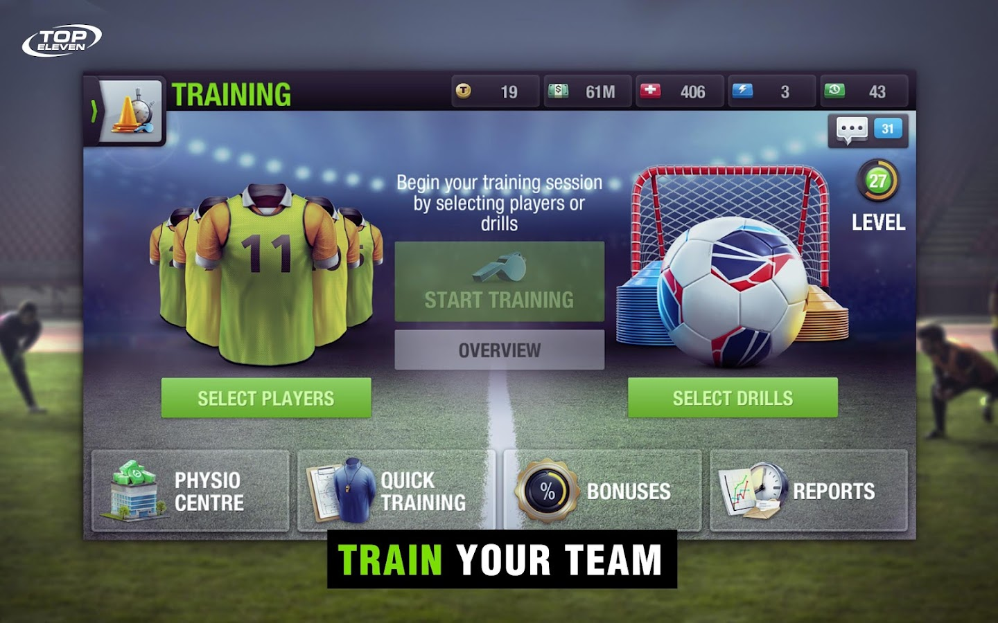 Top Eleven Be a Soccer Manager Screenshot 9