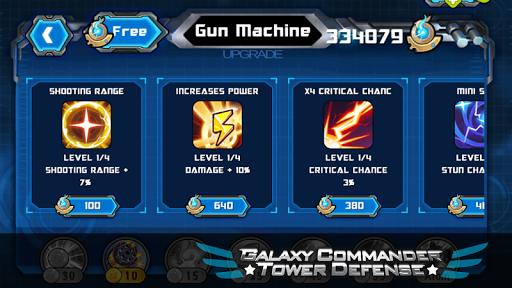Galaxy Commander Tower defense - screenshot