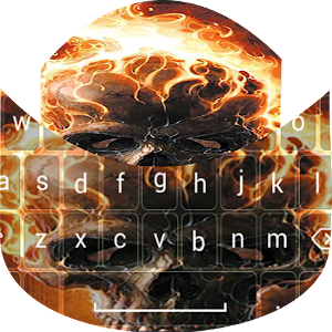 Download Fire Skull Go Keyboard for Windows Phone