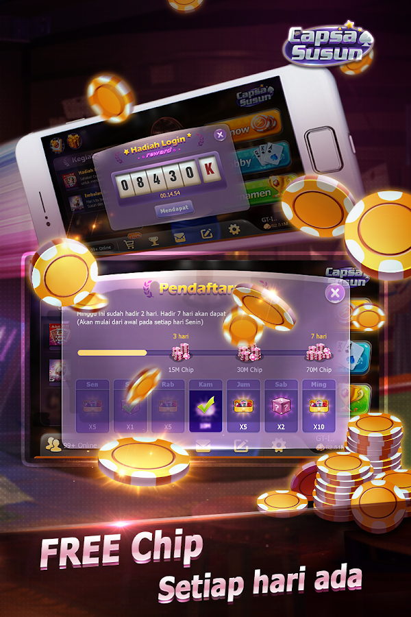 Capsa Susun(Free Poker Casino) Screenshot 6