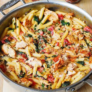 Bacon Spinach Tomato Pasta Recipes