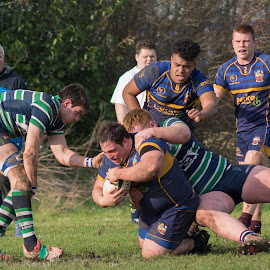 Tackled by James Booth - Sports & Fitness Rugby
