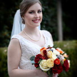 The Bride by Joseph Usher - Wedding Bride ( happy, wedding, flowers, marriage, bride )