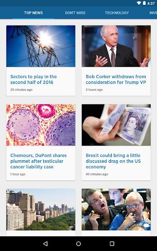 CNBC: Breaking Business News & Live Market Data screenshot 20