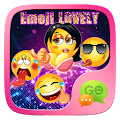 GO SMS EMOJI LOVELY STICKER APK for Bluestacks