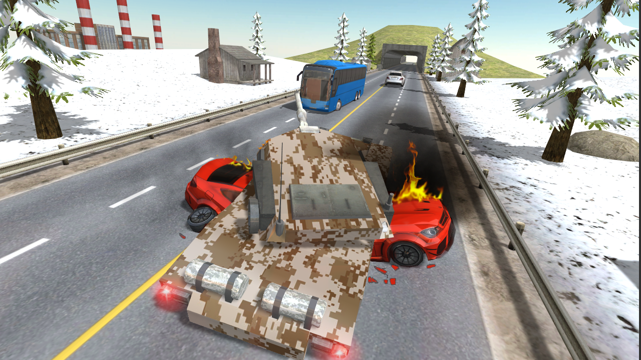 Tank Traffic Racer android spiele download