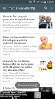 Screenshot of Cilento Notizie