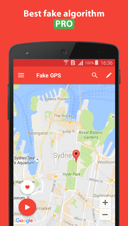 Fake GPS Location PRO Screenshot 3