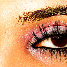 Eyes by Aamir Soomro - People Body Parts ( face, makeup, woman, lashes, eyes )