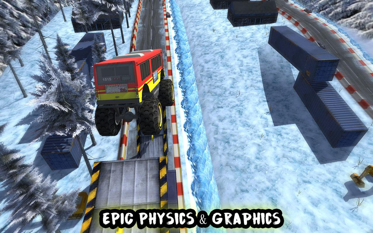 Crazy Monster Bus Stunt Race Screenshot 8