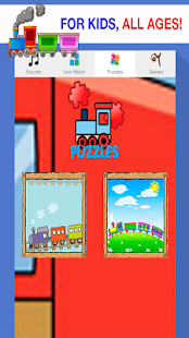 train games for kids under 2 - screenshot
