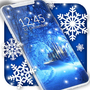 Winter snow wallpaper Icon
