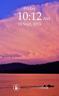 Nightfall Keypad Screen Lock - screenshot