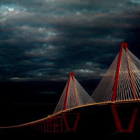 Arthur Ravenel Bridge by Hugh McLaren - Buildings & Architecture Bridges & Suspended Structures