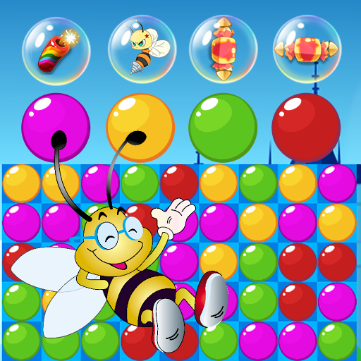 Bee Of King - Bubble Pop And Blast Mania (game)