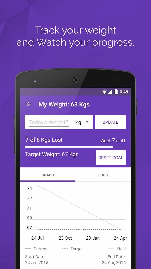 HealthifyMe Weight Loss Coach Screenshot 2