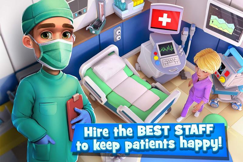 Dream Hospital - Health Care Manager Simulator Screenshot 0