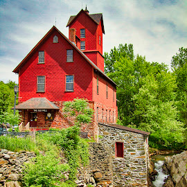 The Old Mill by Chris Arbeene - Buildings & Architecture Public & Historical