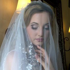 Kelly. by Gavin Smith - Wedding Bride ( wedding, wedding dress, beauty, veil, bride )