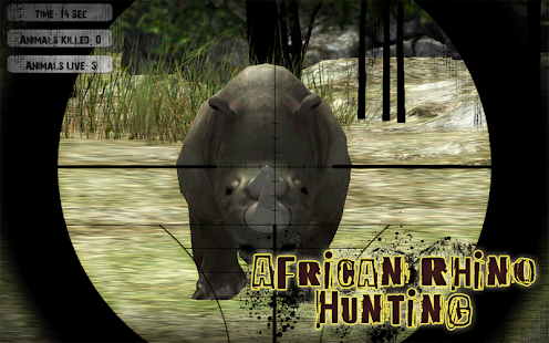 African Rhino Hunting - screenshot