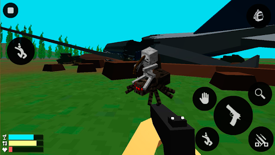 Planet attack zombie: survival - screenshot