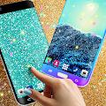 Glitter live wallpaper