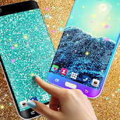 Glitter live wallpaper APK for Ubuntu