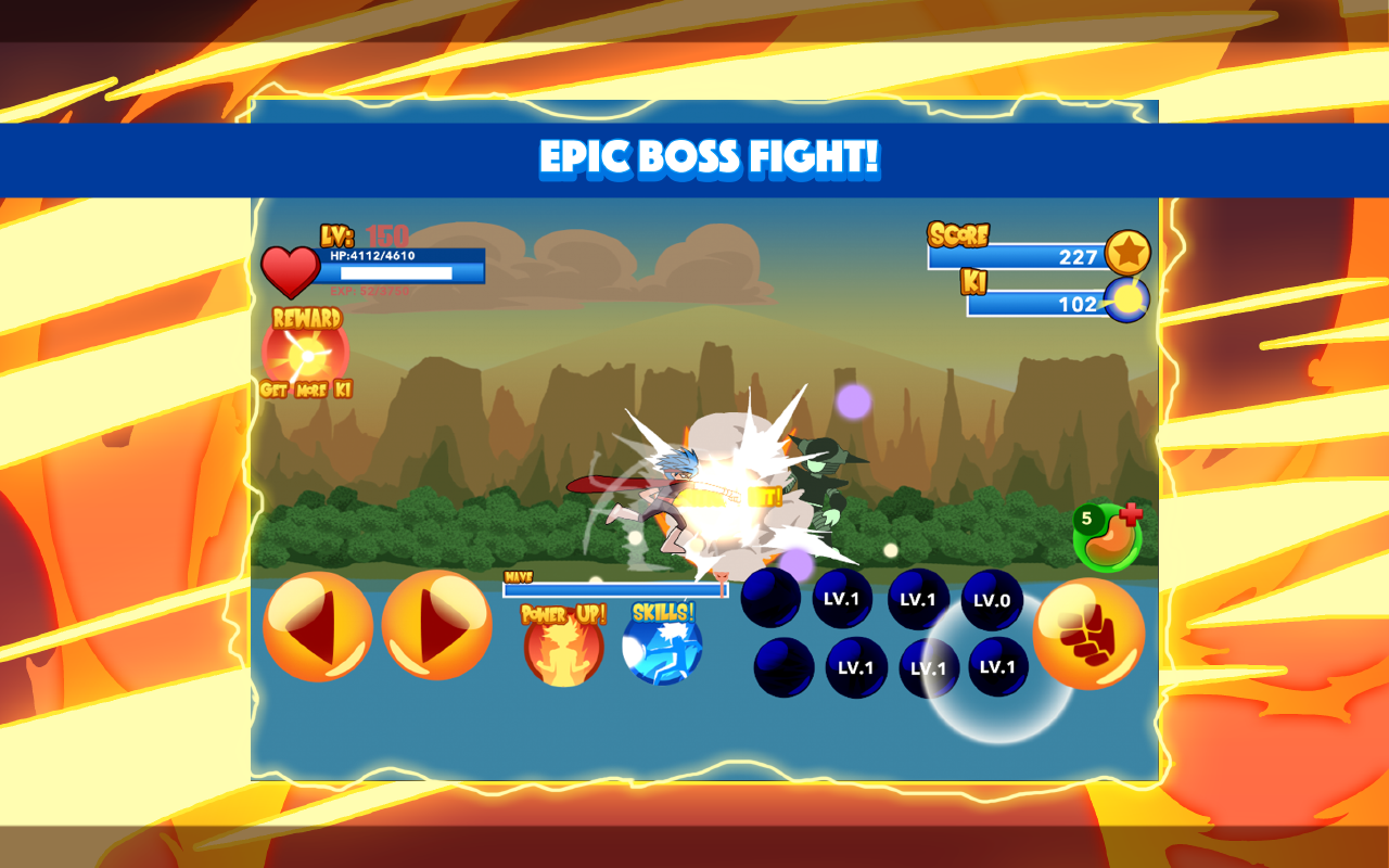 Burning God Fighter Screenshot 3