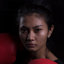 by Eko Probo D Warpani - Sports & Fitness Boxing ( girls, strobist, boxing, beauty, cute )