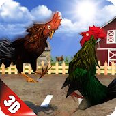 Angry Rooster Fighting Hero: Farm Chicken Battle