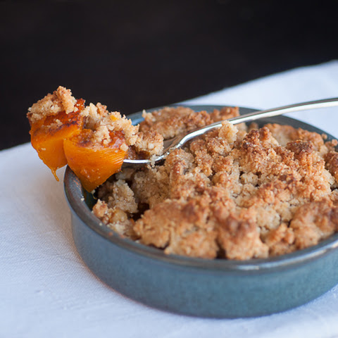 {Halloween recipe} Pumpkin and apple crumble