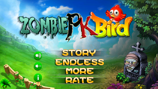Zombies PK Bird - screenshot