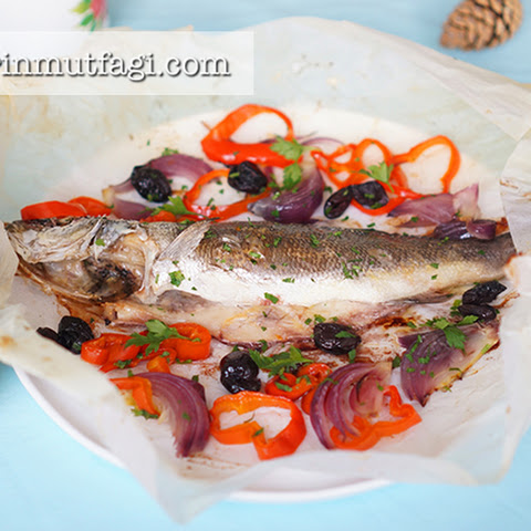 Sea Bass In Parchement Paper