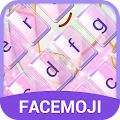 Glitter Unicorn Emoji Keyboard Theme for Snapchat APK for Bluestacks