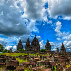 Prambanan by Kristanda Junior - City,  Street & Park  Vistas
