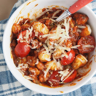 Chorizo and Tomato Gnocchi