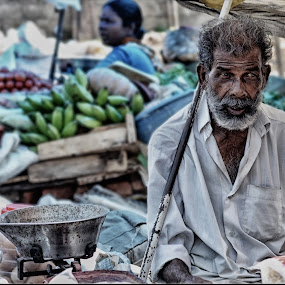 A Young man is a theory, An Old Man is a Fact ! by Prasobh Parthasarathy - People Street & Candids