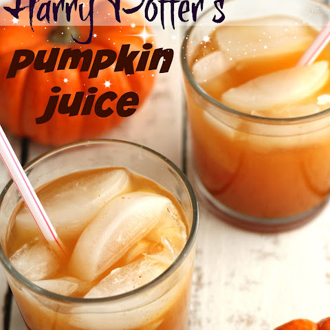Our Version of Harry Potter's Pumpkin Juice