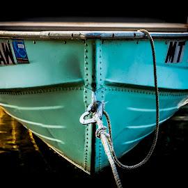 Lake McDonald Row Boat by Anthony Balzarini - Transportation Boats ( nature, mcdonald, lake, boat, photography, row )