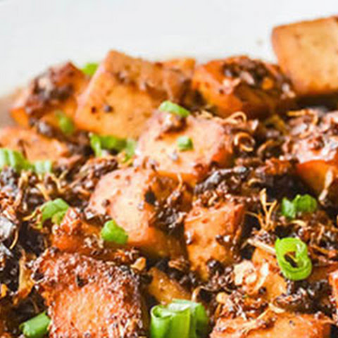 Spicy Garlic Soy Tofu