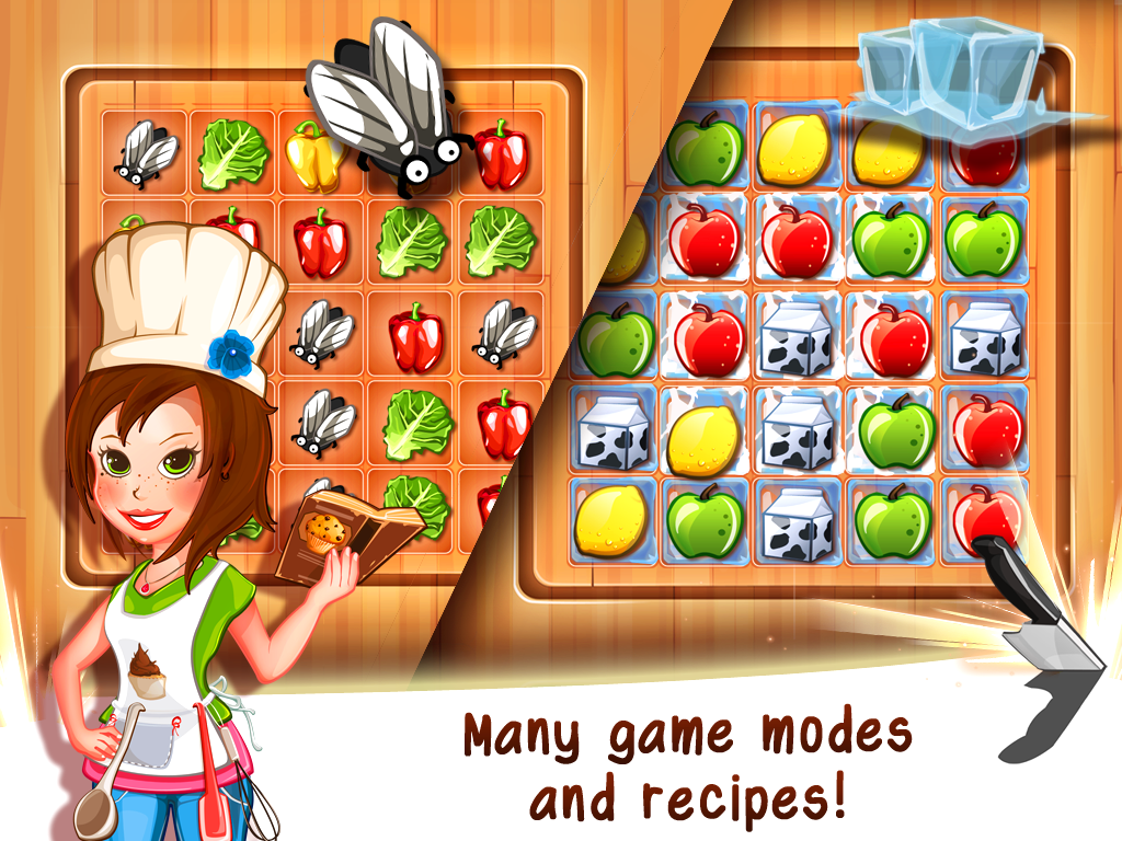 Tasty Tale:puzzle cooking game Screenshot 11
