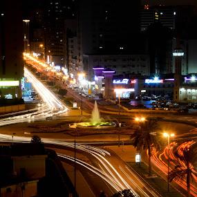 by Minette Estoque - City,  Street & Park  Street Scenes