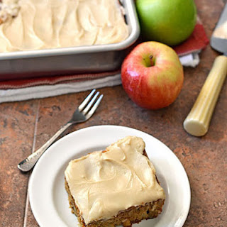 Fresh Apple Cake And Icing Recipes