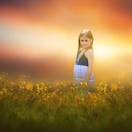 Dreamy Field by Love Time - Digital Art People
