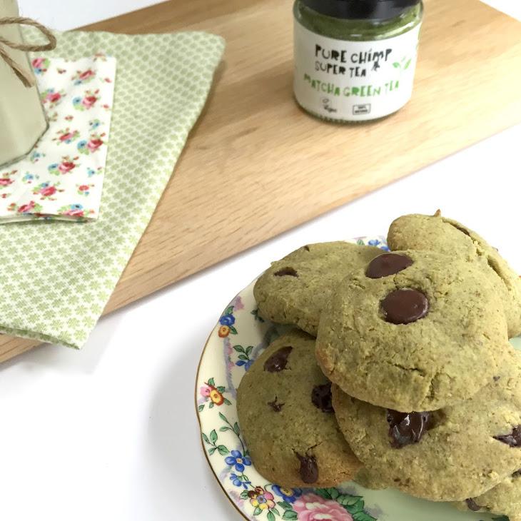 Almond Matcha Cookies Recipe | Yummly
