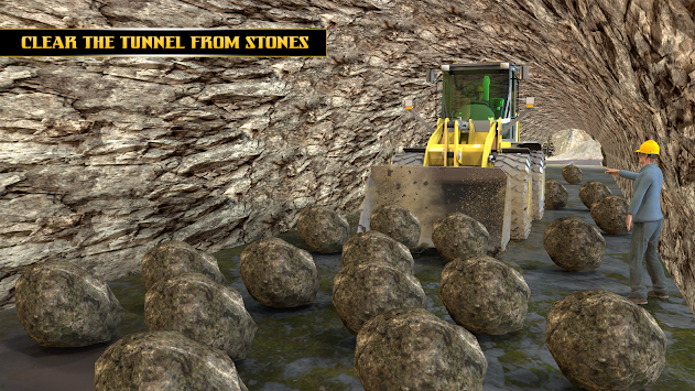 Highway Tunnel Construction & Cargo Simulator 2018 APK screenshot thumbnail 1