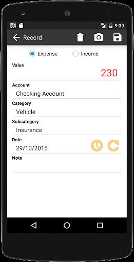 Kontrolo Pro Personal Finance - screenshot
