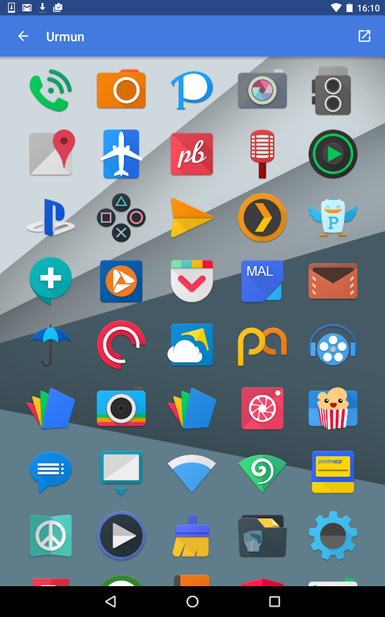Urmun - Icon Pack Screenshot 17