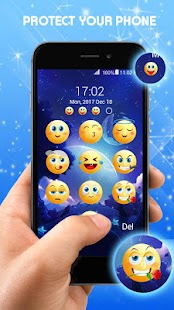 Emoji Sperrbildschirm Screenshot