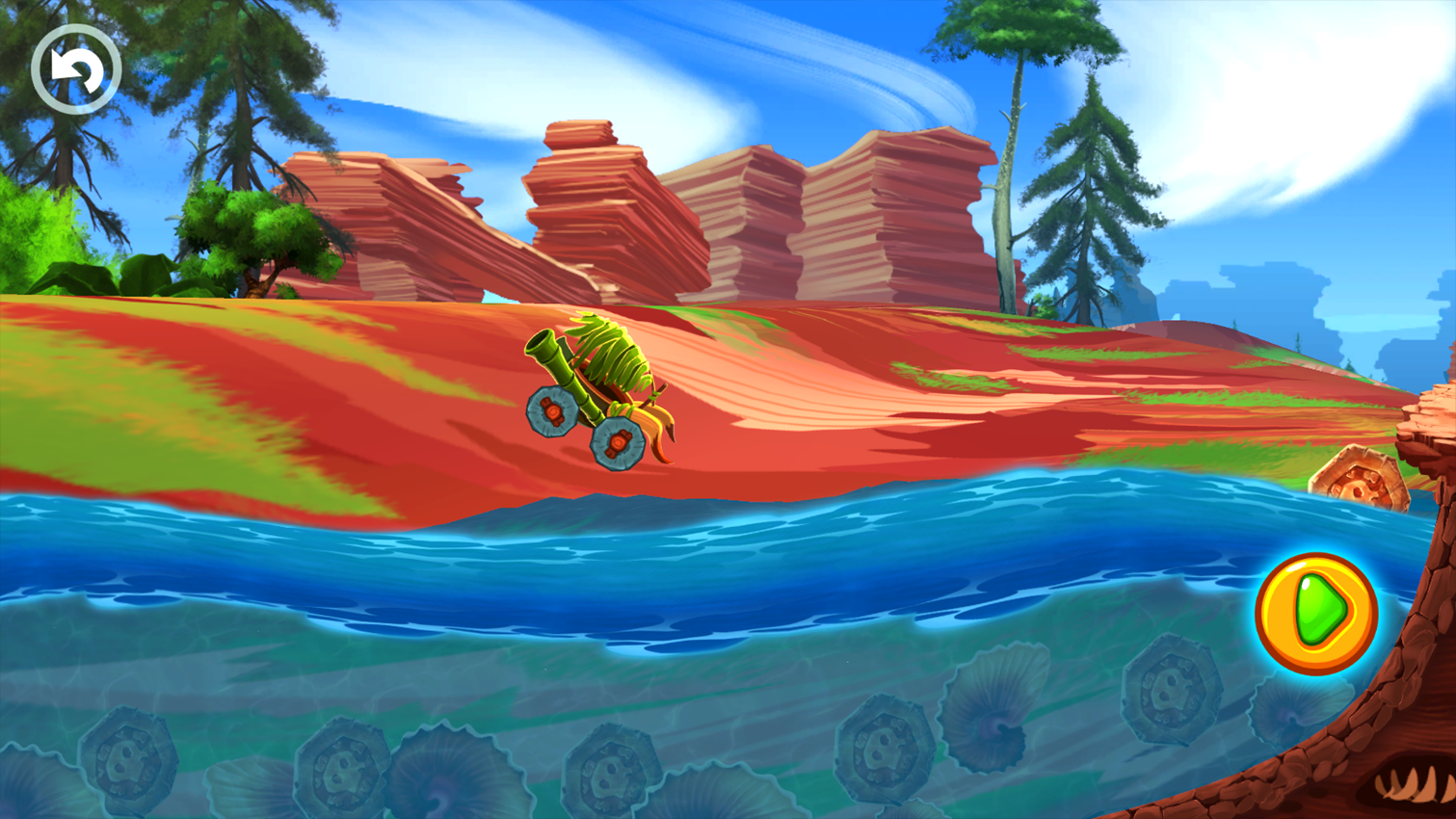 Fun Kid Racing Prehistoric Run Screenshot 15